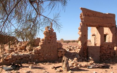 Mulka Store Ruins on the Birdsville Track